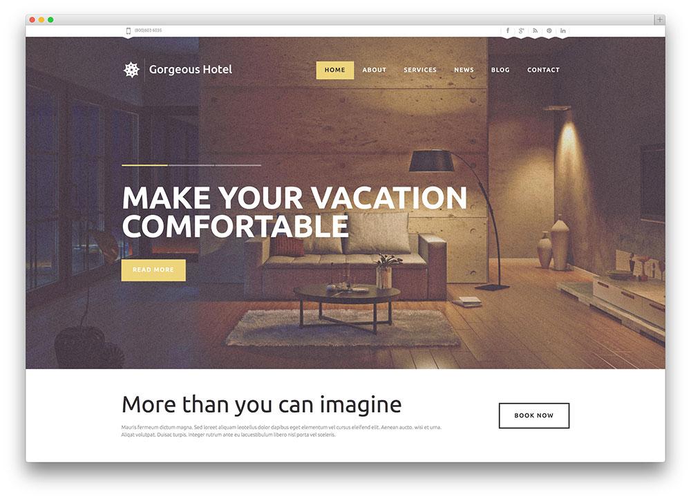 πανεμορφο σχεδιο κατασκευη ιστοσελιδας ξενοχοδειου